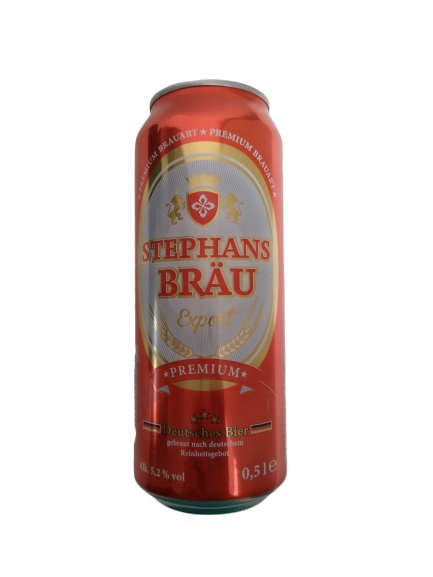 Stephans Bräu Export 0,5 ltr Dose